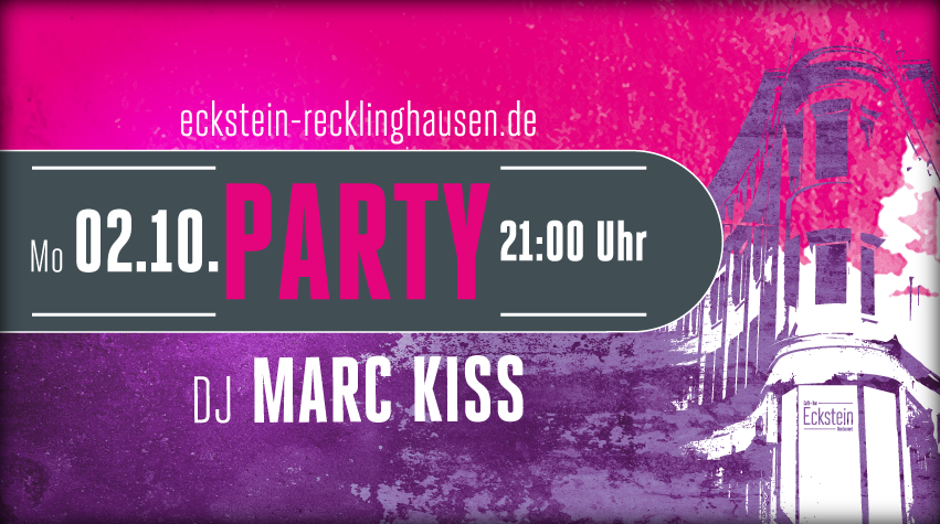Eckstein Party Titelbanner